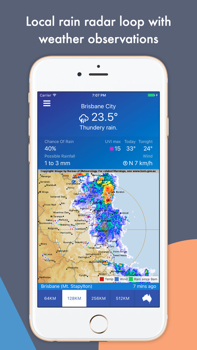 download AUS Rain Radar - Bom radar and weather forecast apps 1