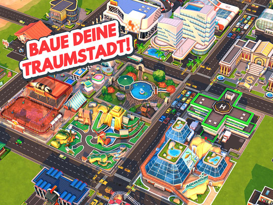 Screenshot 1 Traffic Panic Boom Town