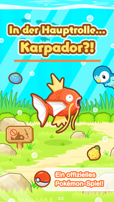 Pokémon: Karpador Jump iOS Screenshots