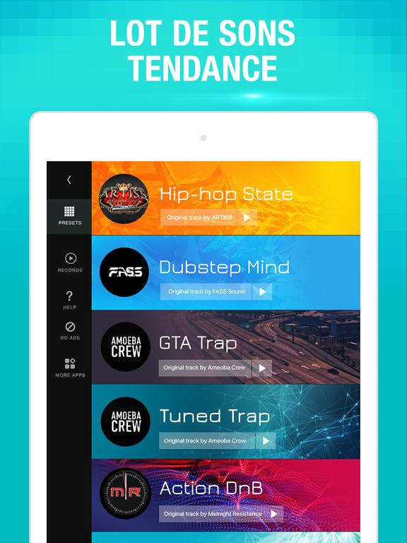 application musique app store sans wifi