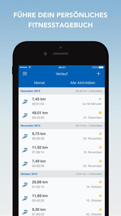 Runtastic Laufen, Joggen, Fitness und GPS Tracker Screenshot
