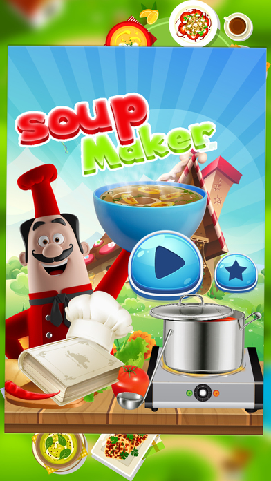 chef fabricant de soupe cuisine nourriture jeux par ehtasham haq. Black Bedroom Furniture Sets. Home Design Ideas