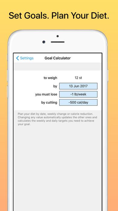 Weight Diary Screenshot