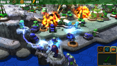 Epic Little War Game iOS Screenshots