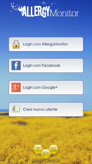 AllergyMonitor Screenshot