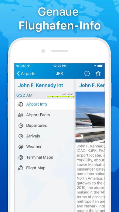 Der Flug Tracker -Track Flüge & Fluggesellschaften Screenshots