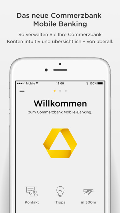 """Commerzbank Banking"" Im App Store"