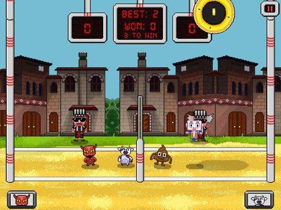 Screenshot 1 Pixel Volley