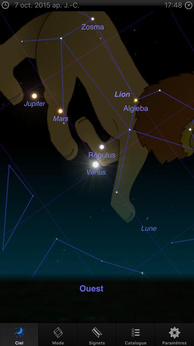 Screenshot Astro 3D+: Le ciel, les étoiles et l'astronomie