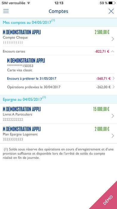 Banque populaire dans l app store - Banque populaire cyber ...