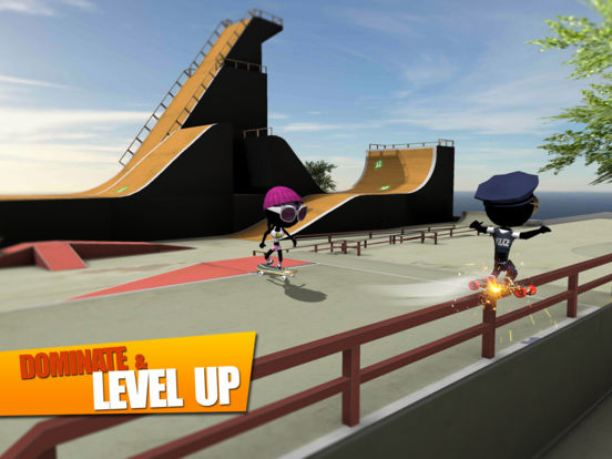 Screenshot 4 Stickman Skate Battle