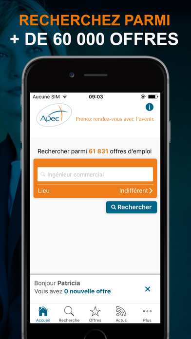 apec offres d emploi cadres on the app store