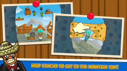 Amigo Pancho 2: Puzzle Journey iOS Screenshots