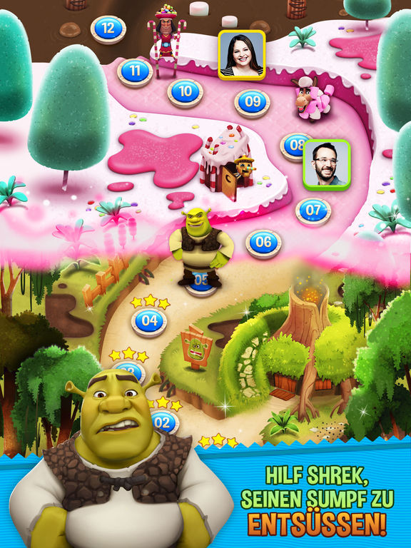 Screenshot 1 Shrek Sugar Fever
