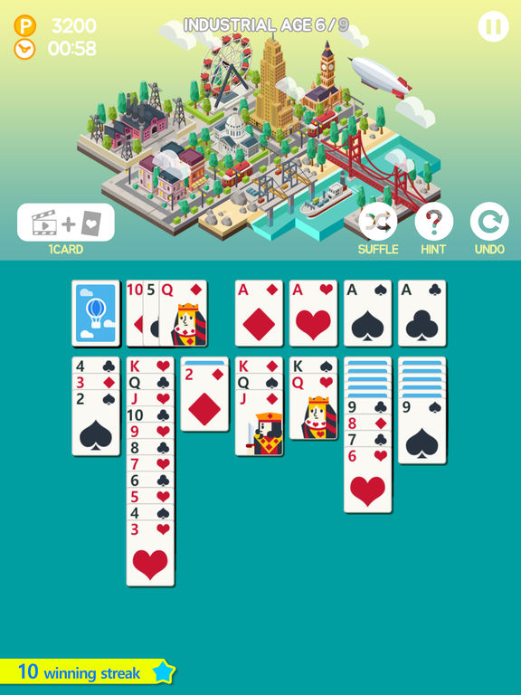 Screenshot 1 Age of solitaire : Build City