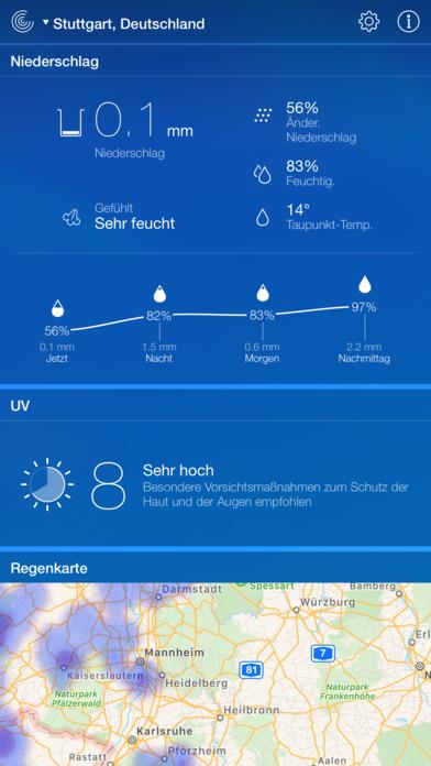 Wetter Live - Wettervorhersage & Temperatur Screenshot