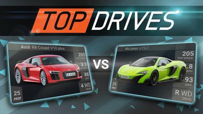Top Drives iOS Screenshots