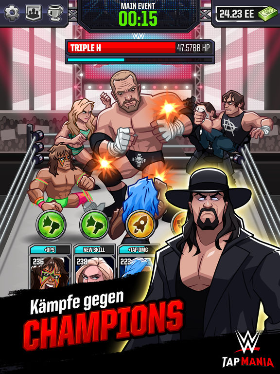 Screenshot 4 WWE Tap Mania