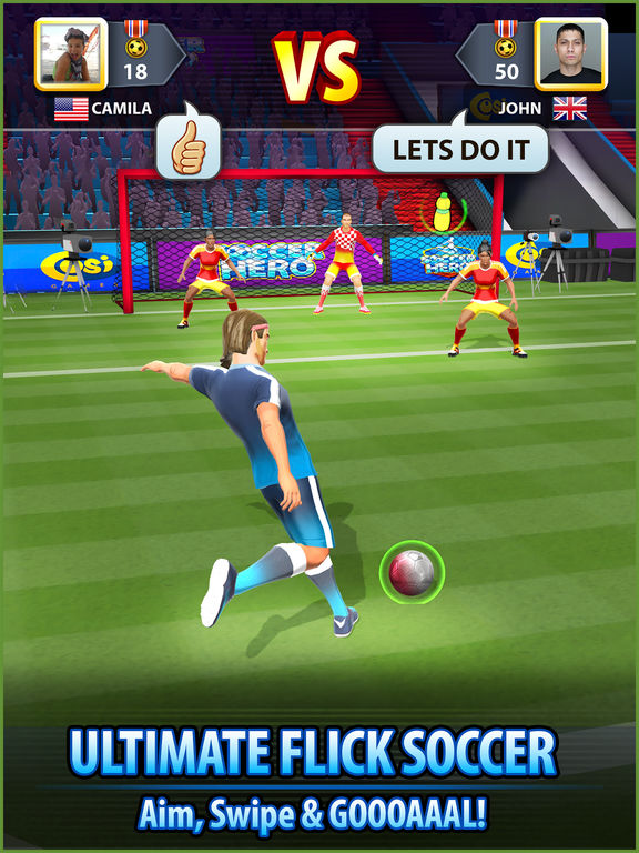 Screenshot 2 Soccer! Hero