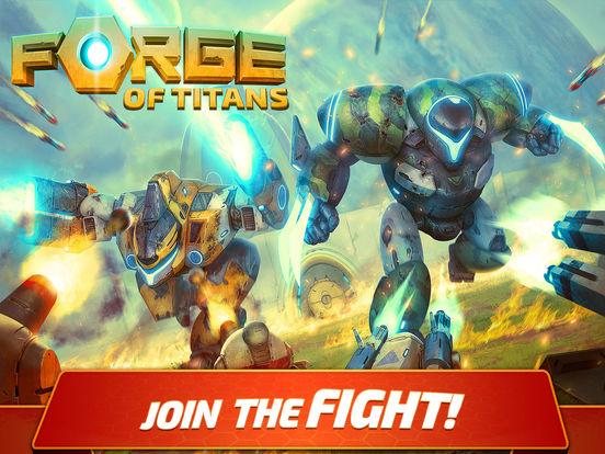 Forge of Titans: Mech Wars Screenshot