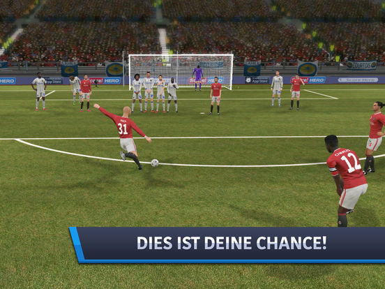 Screenshot 1 Dream League Soccer 2017