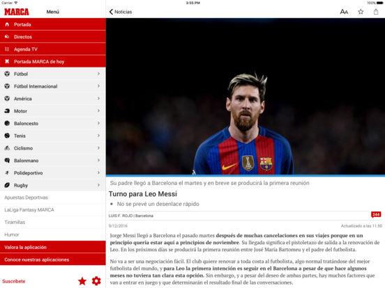 MARCA - Diario deportivo Screenshot