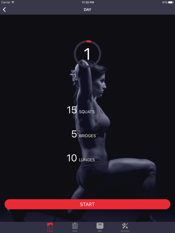Po-Übungen: Butt Workout Screenshot