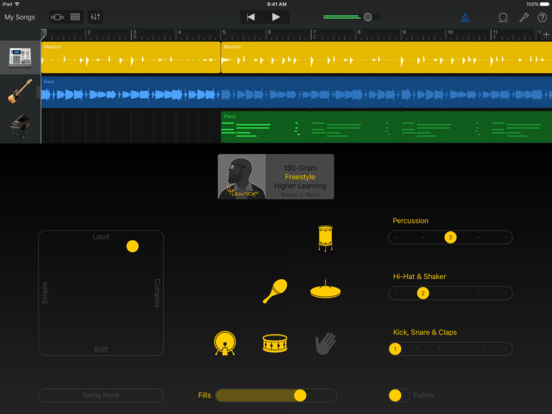GarageBand Screenshot