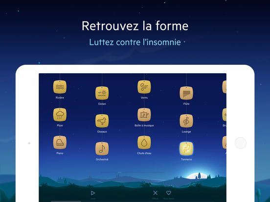 Screenshot #6 pour Relax melodies P: bien dormir, sommeil zen, yoga