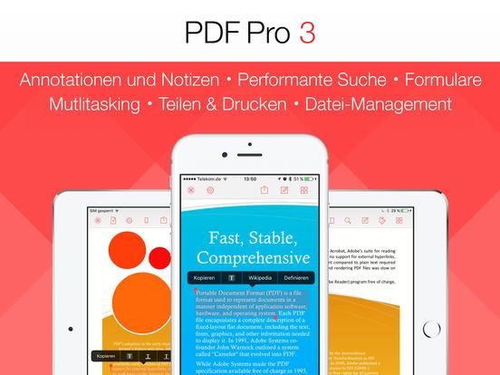 PDF Pro 3 – Die ultimative PDF App Screenshot