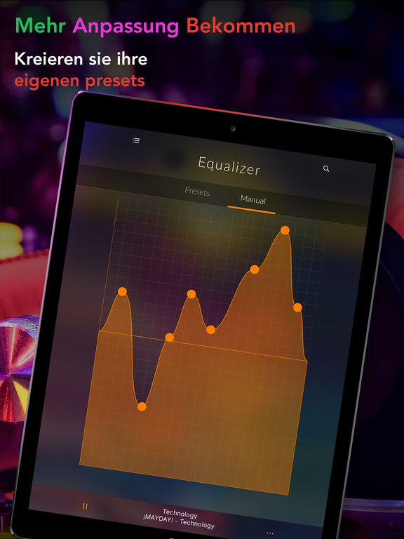 EQLZR PRO – Volumenverstärker und Equalizer Screenshot