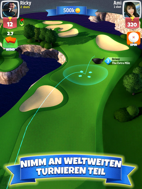 Golf Clash iPhone iPad