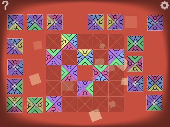 Screenshot 3 AuroraBound – Musterpuzzles