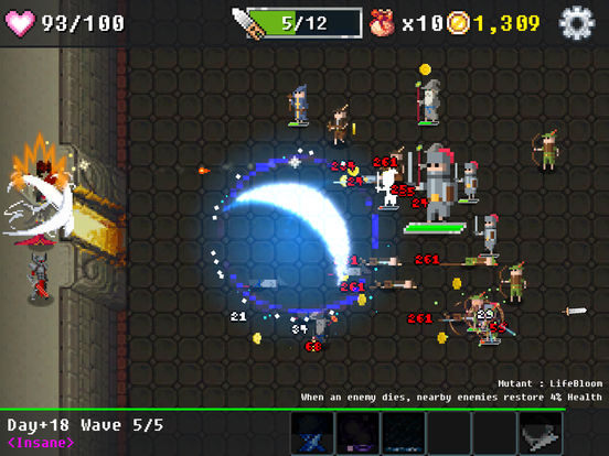 Dungeon Defense : The Invasion of Heroes iPhone iPad