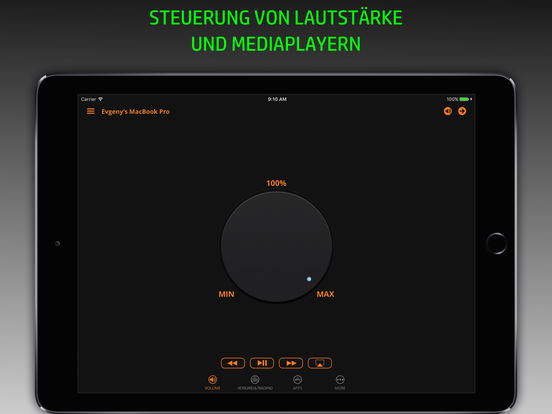 Fernbedienung, Tastatur und Trackpad für Mac [PRO] Screenshot