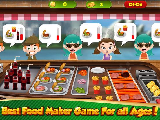 Hot Dog Maker Jeux De Restaurant