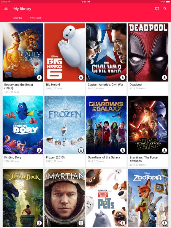 Google Play Filme & Serien Screenshot