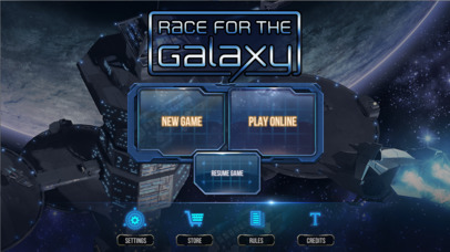 Race for the Galaxy iOS Screenshots