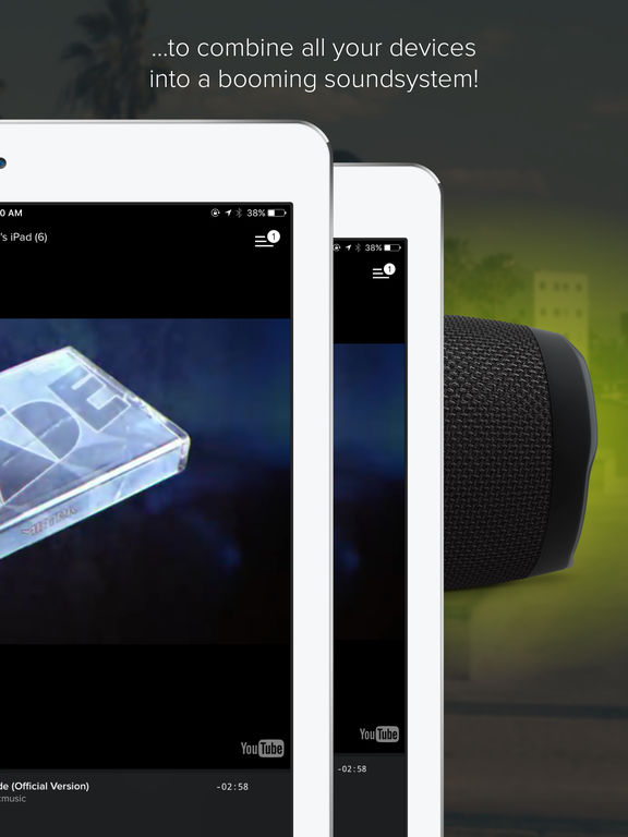AmpMe - A Portable Social Party Music Speaker Screenshot