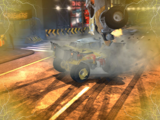 Screenshot 2 Carmageddon Crashers-Drag Race