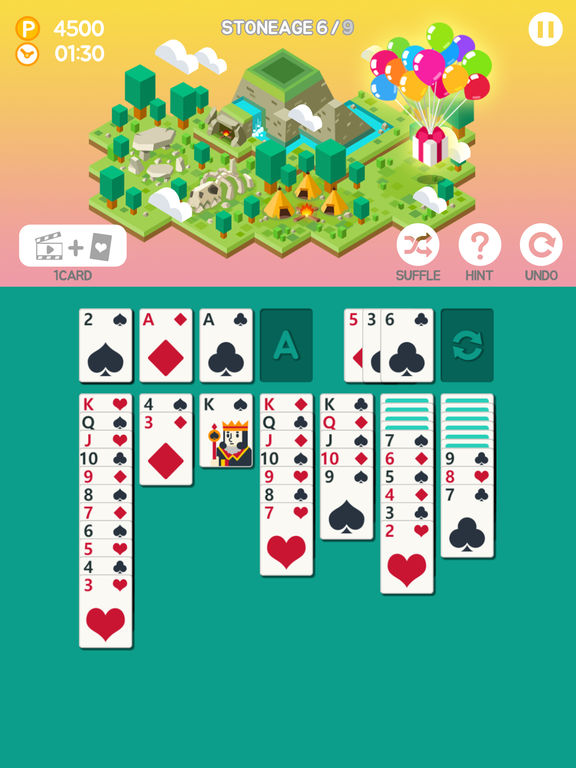 Screenshot 2 Age of solitaire : Build City