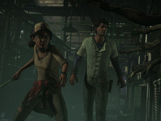 Screenshot 1 The Walking Dead: A New Frontier
