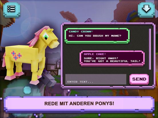 Kleine Pony Stadt: Designen & Bauen Screenshot