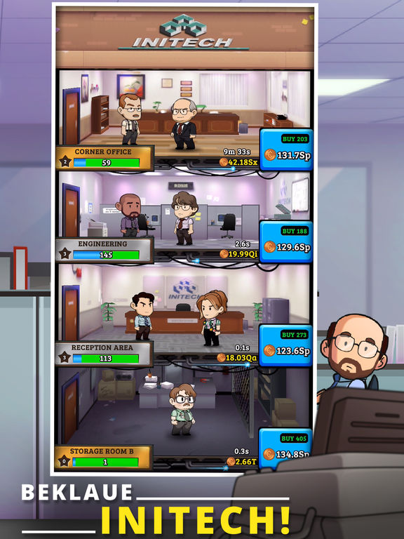 Screenshot 3 Office Space: Idle Profits