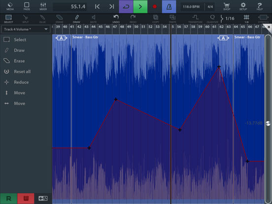 Cubasis 2 - Mobile Music Creation System Screenshot