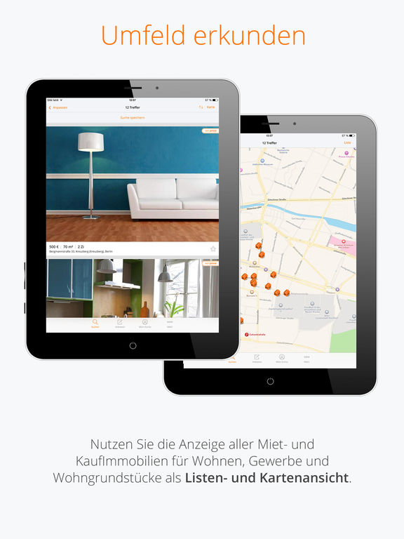 immobilienscout24 immobilien suche im app store. Black Bedroom Furniture Sets. Home Design Ideas