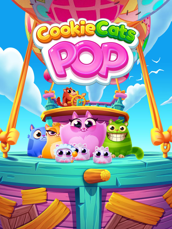 Cookie Cats Pop iOS Screenshots