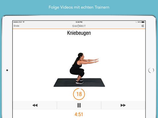 Sworkit - Persönlicher Trainer Screenshot