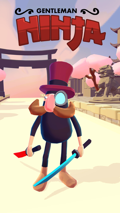 Gentleman Ninja iOS Screenshots