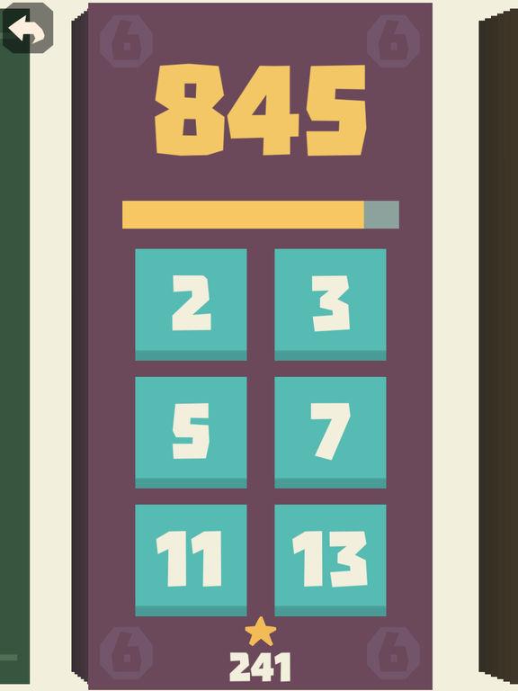 Screenshot 4 Prime Division - Zahlenspiel